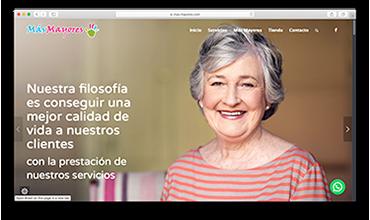 Diseño web página corporativa y tienda online